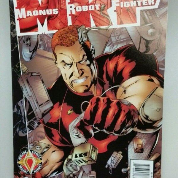 Magnus Robot Fighter 1, Vol 2, Acclaim Comics