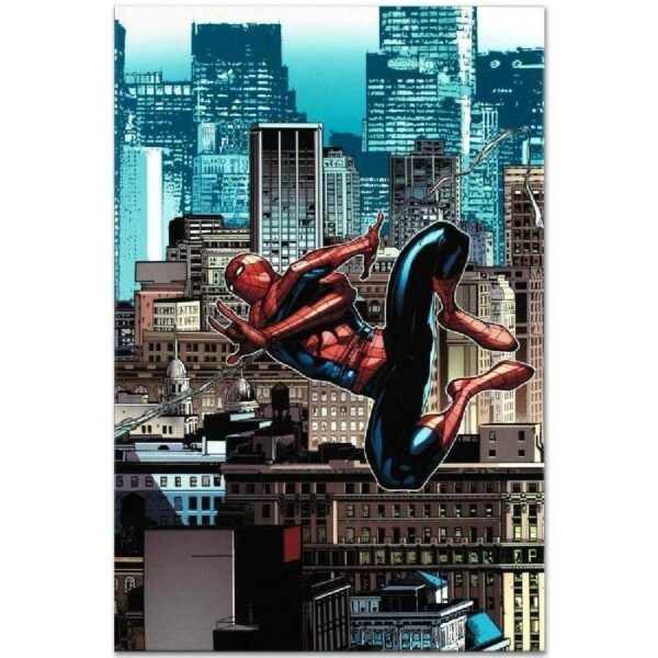 Amazing Spider-Man 666 Limited Edition Art Print by Stefano Caselli