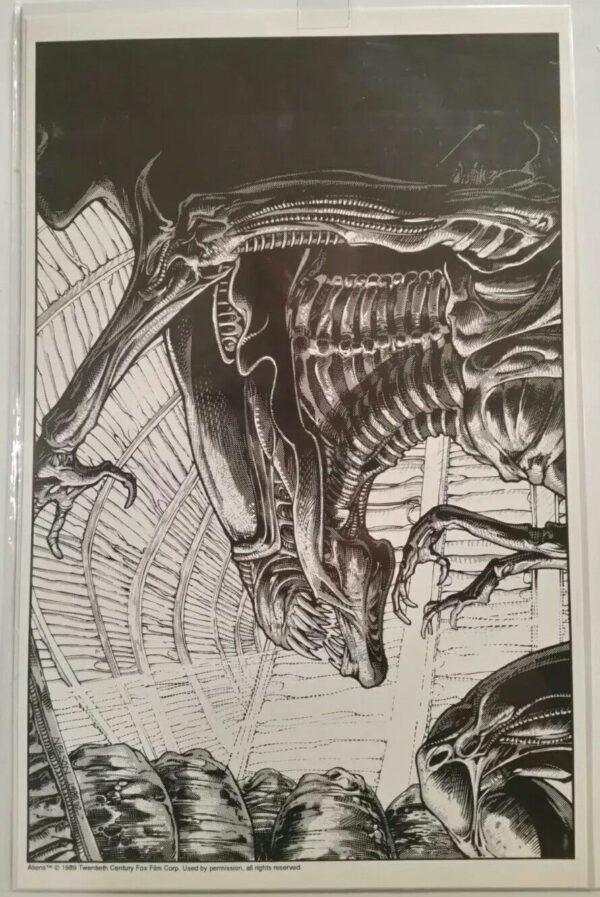 Aliens Queen Print
