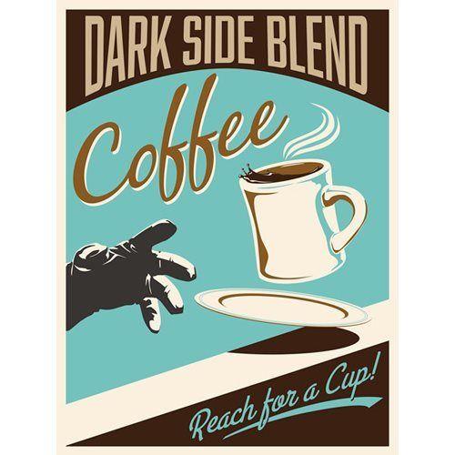Star Wars Dark Side Blend Giclee by Steve Thomas