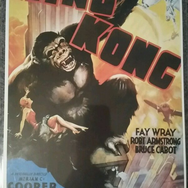 King Kong Movie Poster Limited Edition with Certificate of Authenticity