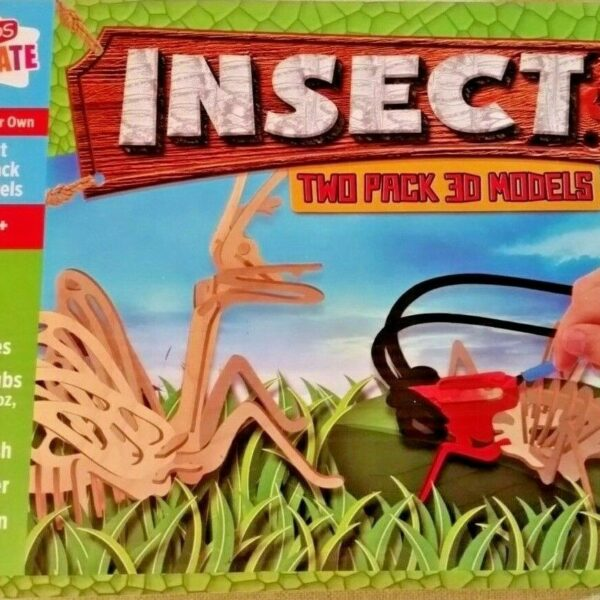Insect 3D Model Puzzles with Paint