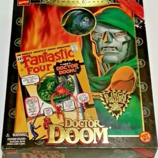 Doctor Doom Figure From the Marvel Famous Cover Series 8″ by Toy Biz, 1998