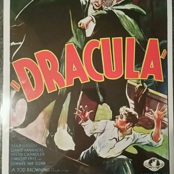 DRACULA 1932 Movie Poster 11×17 Inch, Limited Edition with COA