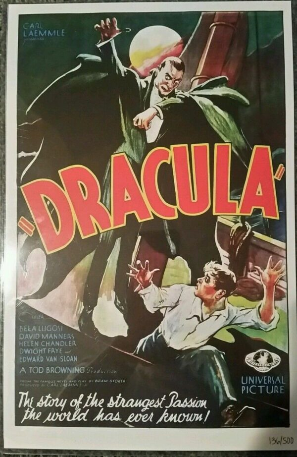 Dracula 1932 movie poster