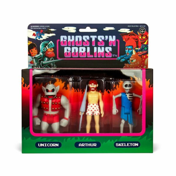 Ghosts N Goblins Version B Action Figure 3 Pack … One of the most difficult CAPCOM games!!
