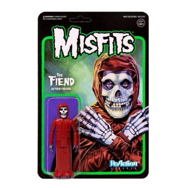 Misfits Fiend Crimson Red Version 3.75″ ReAction Figure