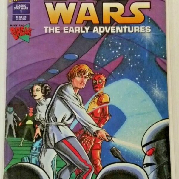 Classic Star Wars The Early Adventures 1 from Dark Horse Comics