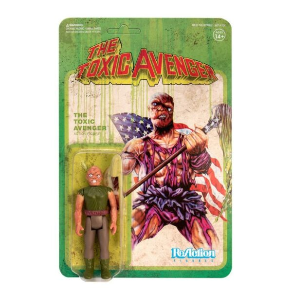 Toxic Avenger ReAction Figure – Authentic Movie Variant  First Super Hero from NJ.