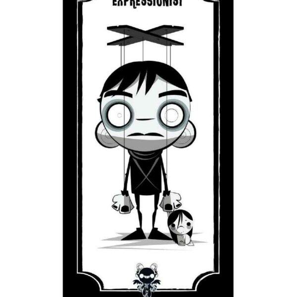 THE CABINET OF DR CALIGARI Giclee by Juan Rubi