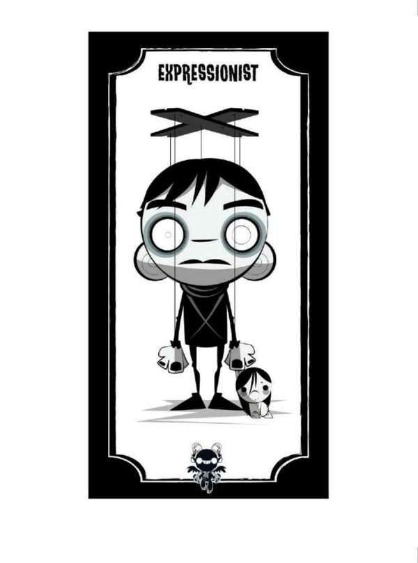 The Cabinet of Dr Caligari giclee