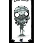 The Mummy Giclee by Juan Rubi