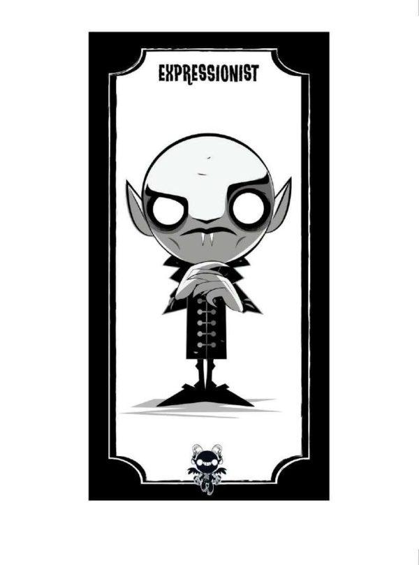 Nosferatu giclee by juan rubi