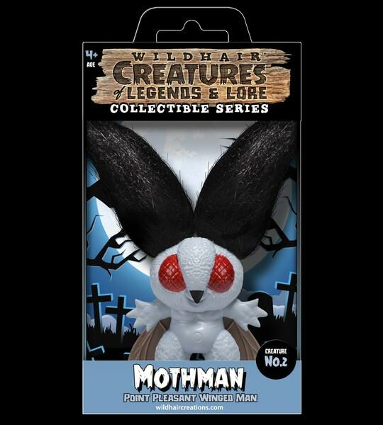 The Mothman Wild Hair Creations Creatures of Legends and Lore