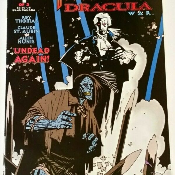 The Frankenstein Dracula War 1: The Gathering Storm, Topps Comics