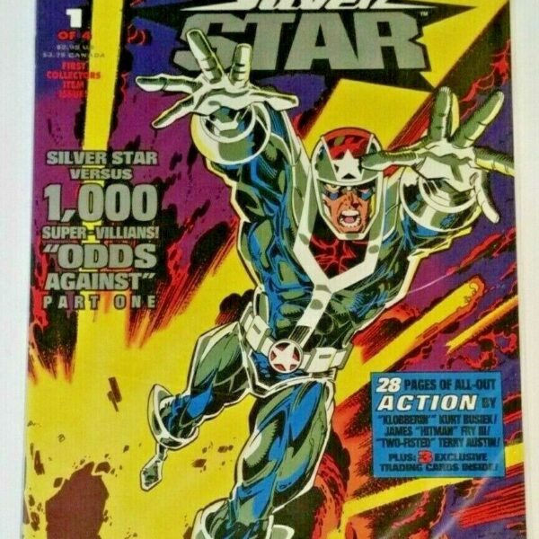 Jack Kirby's Silver Star Comic Issue #1 from Topps Comics
