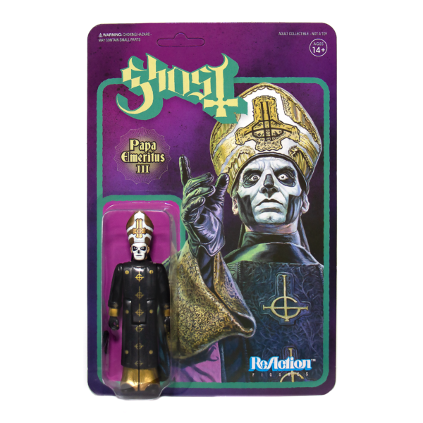 Papa Emeritus III Ghost ReAction Figure by Super 7