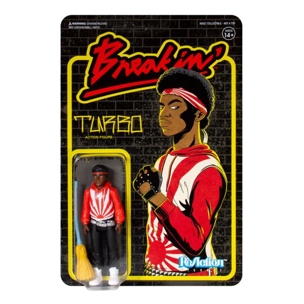 Breakin ReAction Figure – Turbo