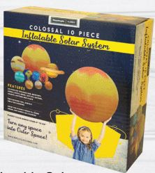 Replogle INFLATABLE SOLAR SYSTEM … Explore the wonders of Astronomy