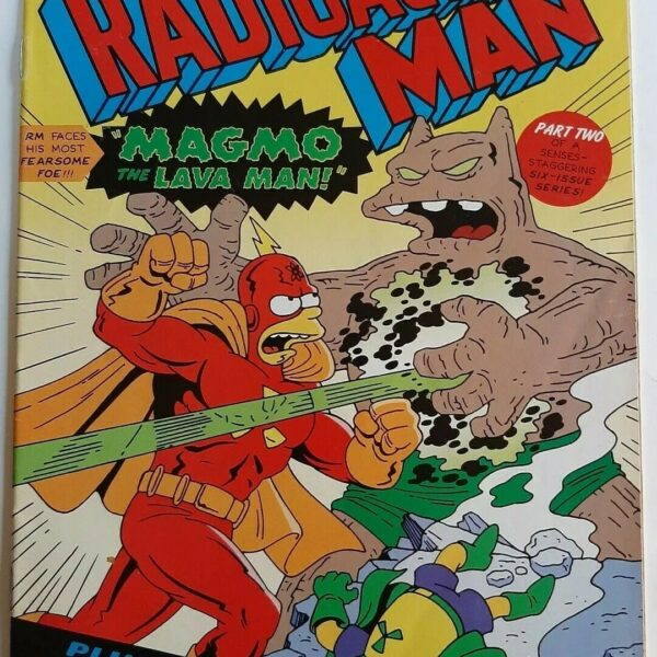 Radioactive Man 88, Bongo Comics Group – Only 1 issue available!