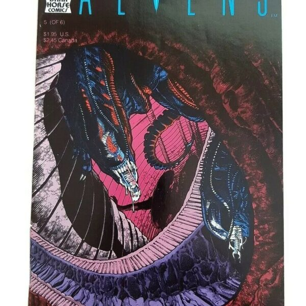 Aliens Comic 5 (of 6), First printing, Dark Horse Comics