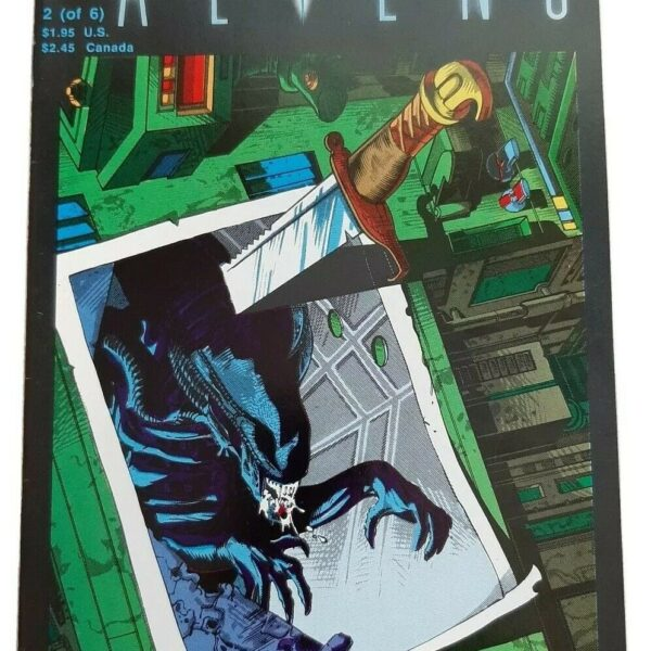 Aliens 2 (of 6), Second printing, Dark Horse Comics