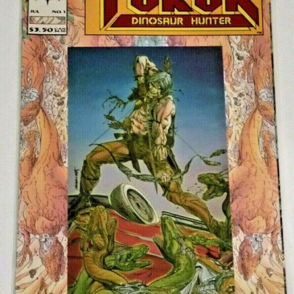 Turok Dinosaur Hunter 1, 1993, Valiant Comics, Cover Variant A