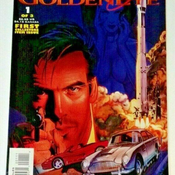 James Bond 007 Goldeneye Comic Issue #1, Topps Comics, 1996