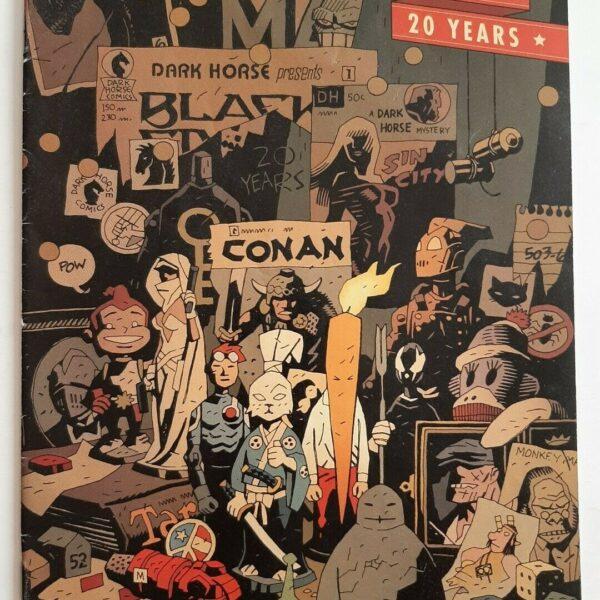 Dark Horse Twenty Years Comic #0