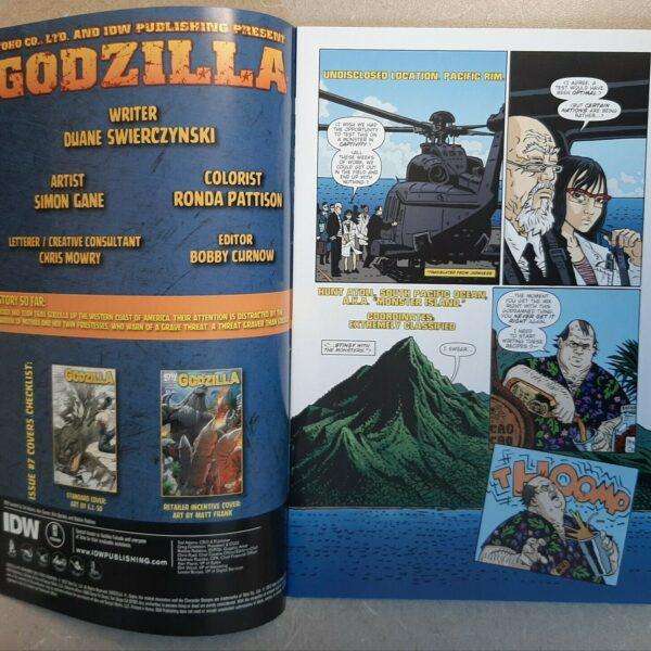 Godzilla 7, IDW Publishing (Nov 2012)