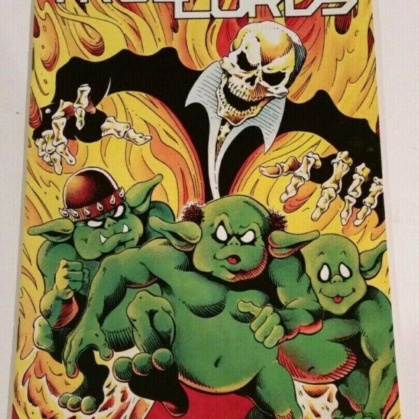 Trollords 1, Tru Studios, 1986, Dramatic First Issue!