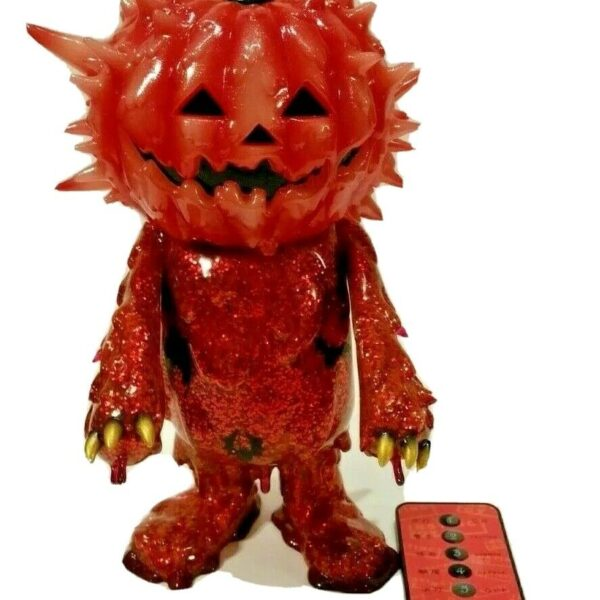 Halloween Inc Jack-O-Lantern Sofubi by Instinctoy 82/100, STGCC 2015 Exclusive