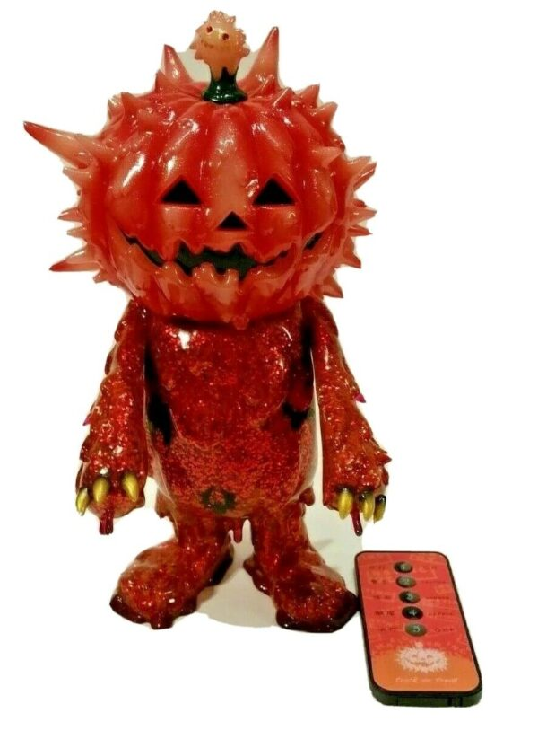 Halloween Inc. Jack-O-Lantern Sofubi by Instinctoy 82/100, STGCC 2015 Exclusive
