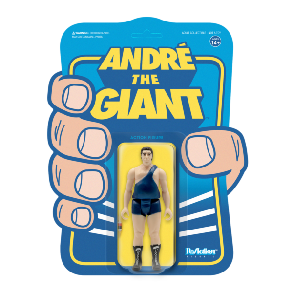 Andre the Giant in Singlet Reaction Figure, The 8th Wonder of the World