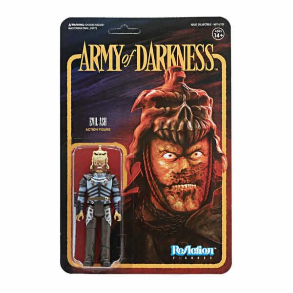 Evil Ash .. Army of Darkness ReAction Figure