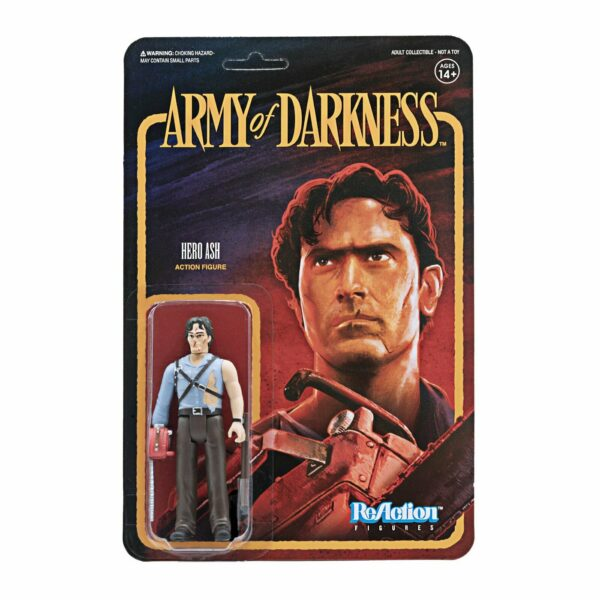 Hero Ash Army of Darkness ReAction Figure