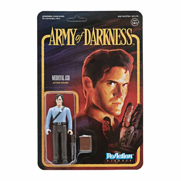 Medieval Ash Army of Darkness ReAction Figure .. Hail to the King, baby!