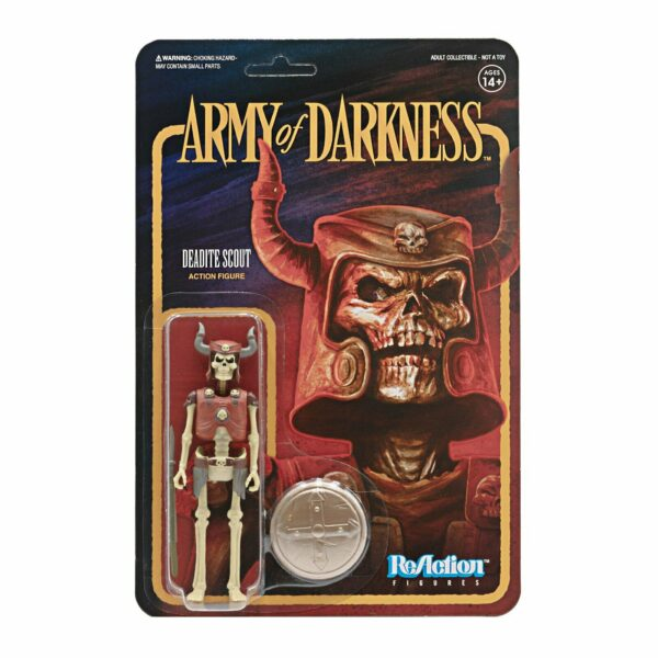 Deadite Scout Army of Darkness ReAction Figure .. build up your evil army