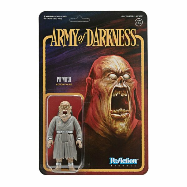 Pit Witch Army of Darkness ReAction Figure .. Battle to the death against Ash