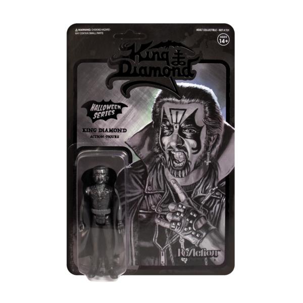 King Diamond in Black ReAction Figure –  The lord of 80s era Black Metal