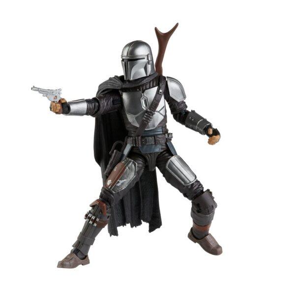 Black Series Mandalorian (Beskar)  Exquisitely detailed 6″ tall Star Wars action figure