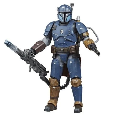 Heavy Infantry Mandalorian from the Star Wars Black Series Collection arrives on the 11th