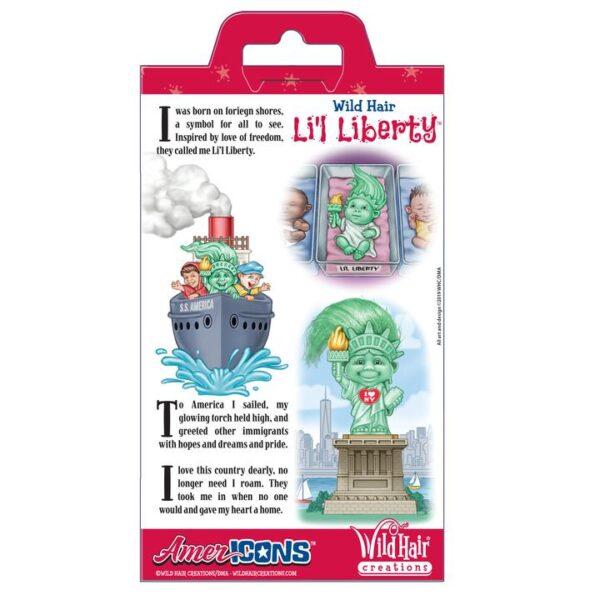Lil Liberty Wild Hair Creations AmerIcons