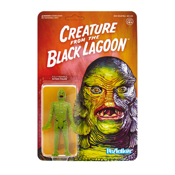 Creature from the Black Lagoon ReAction Figure based on the Classic Horror Film