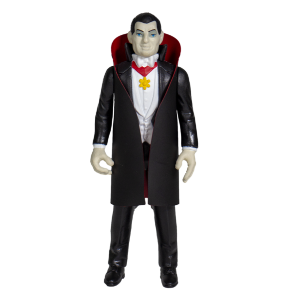 Dracula ReAction Figure – based on the Universal Monsters classic horror film.