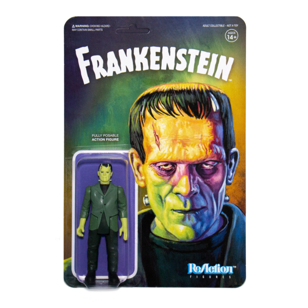 Frankenstein ReAction Figure – the classic Universal Monsters creature reborn retro-style