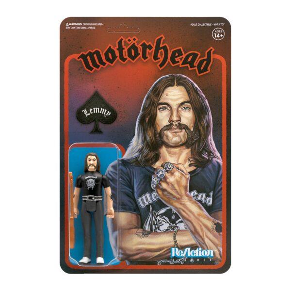 Lemmy Motorhead ReAction Figure – He was Legendary