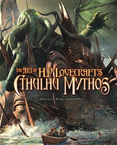 The Art of H.P. Lovecraft Cthulhu Mythos – Nearly 200 pages absolutely haunting images!