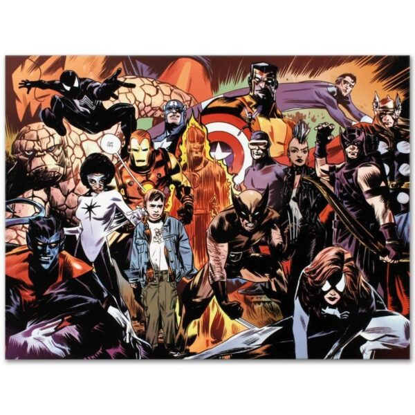 Marvel 1985 #6 by Marvel Comics, Numbered Limited Edition Giclee 81/99