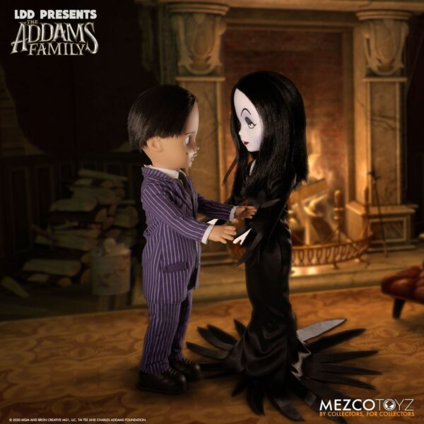 Addams Family Gomez and Morticia from LDD Presents (Pre-Order Item) Creepy, Kooky, Mysterious, and Spooky